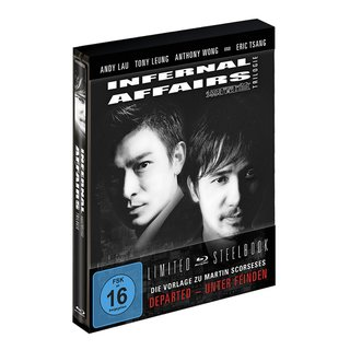 INFERNAL AFFAIRS TRILOGIE - STEELBOOK