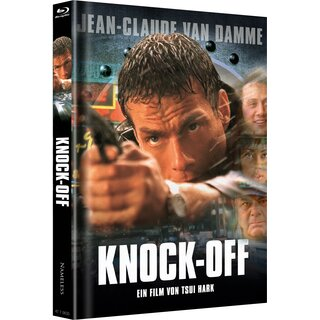KNOCK OFF - VHS COVER