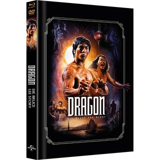 DRAGON - BRUCE LEE STORY - ARTWORK COVER