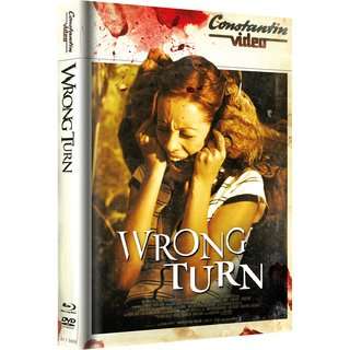 Wrong Turn 1 - Retro Cover