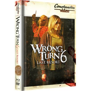 Wrong Turn 6 - Retro Cover