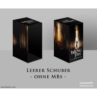 Wrong Turn Schuber Black - LEER