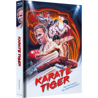 KARATE TIGER - COVER B -ARTWORK