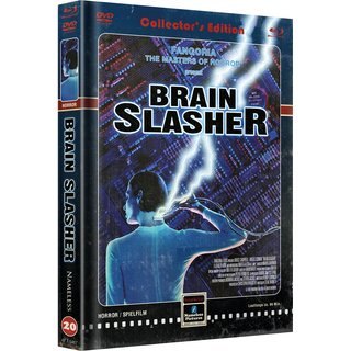 BRAIN SLASHER - COVER C - RETRO